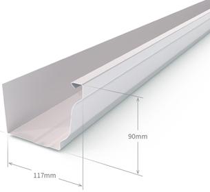 Canalon chapa reparaci n del techo de la casa - Precio chapa ondulada galvanizada ...